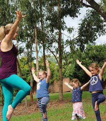 5 yoga practices to reduce stress at school for kids and